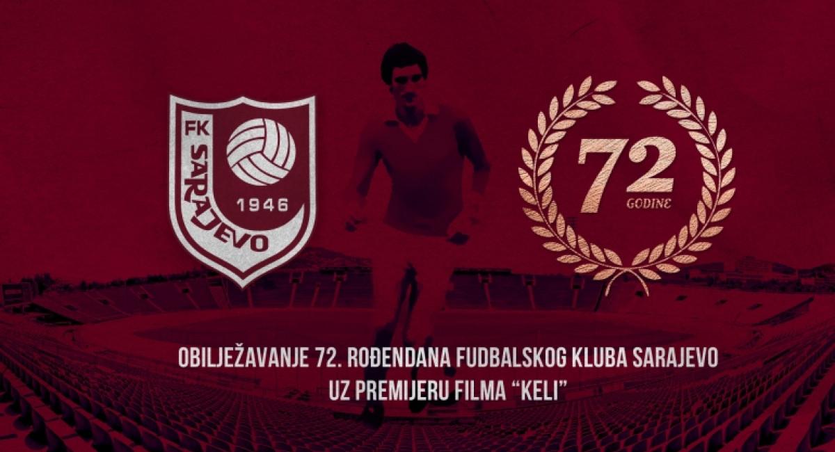 """72. rođendan FK Sarajevo i premijera filma """"Keli"""""""