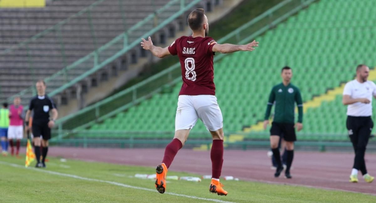 FK Sarajevo 2:0 NK Široki Brijeg | Pobjeda Bordo kluba na Koševu