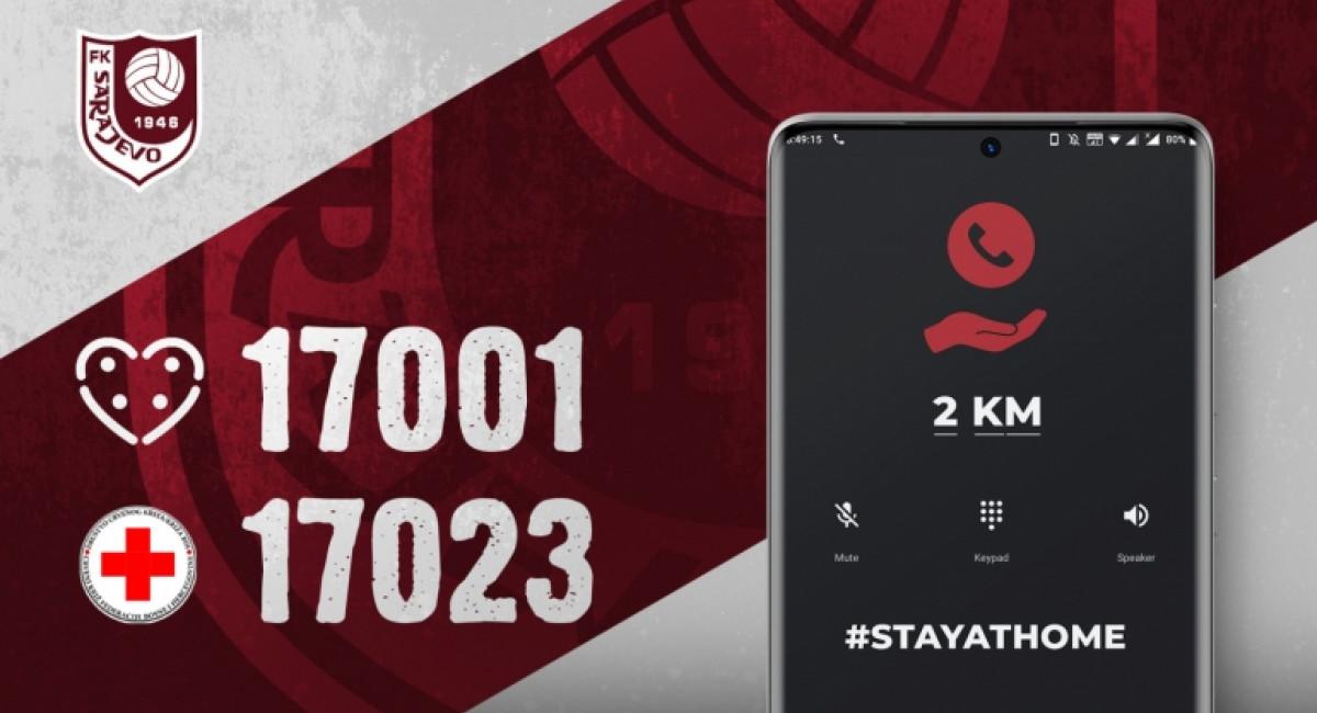 Pozovi 17001 ili 17023 i doniraj 2 KM!