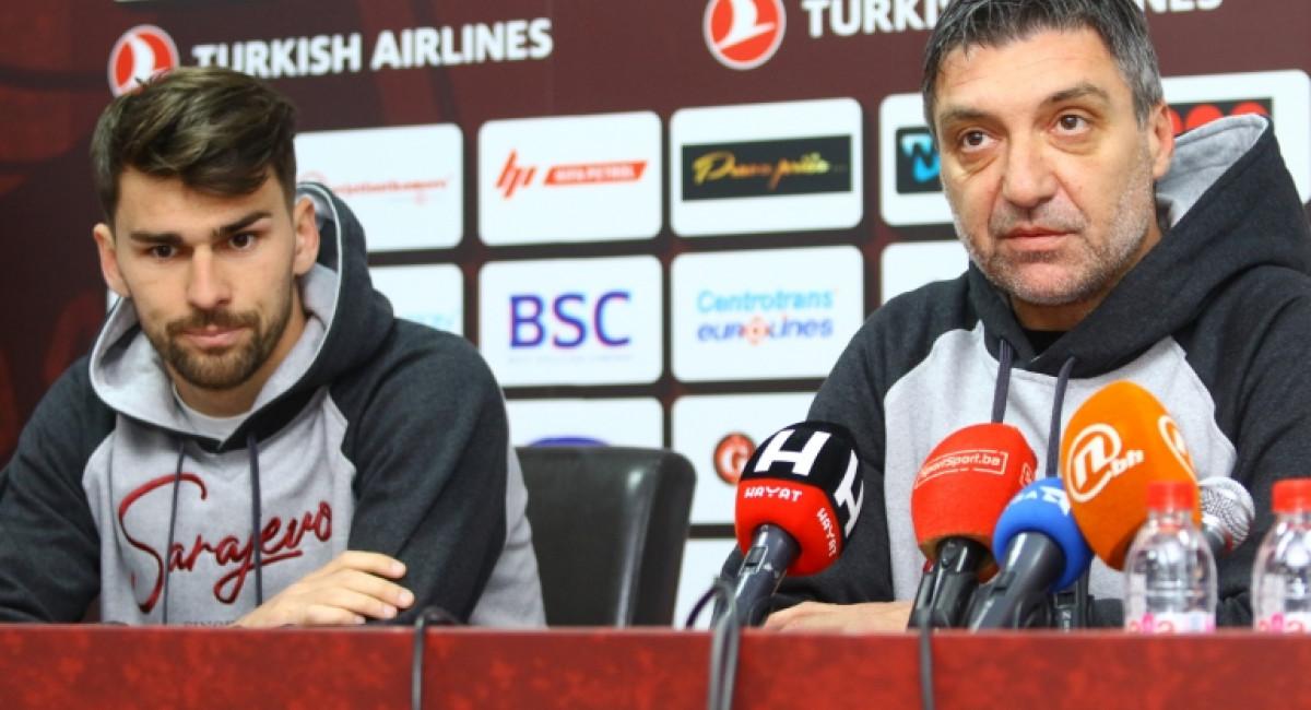 Marinović i Rahmanović najavili utakmicu protiv FK Mladost