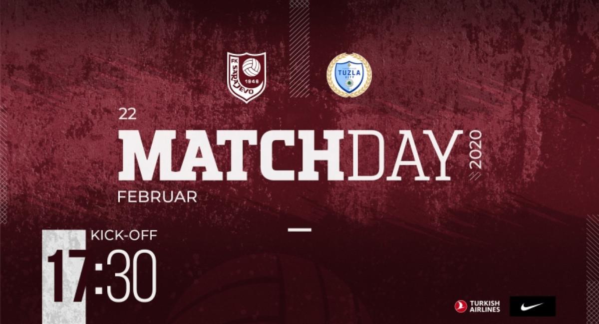 Danas protiv FK Tuzla City