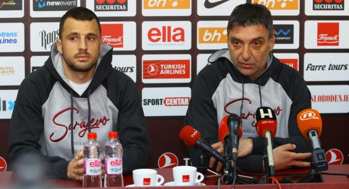 Marinović i Velkoski najavili utakmicu protiv FK Tuzla City