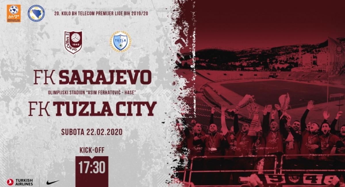 Počela prodaja ulaznica za meč protiv FK Tuzla City, pogodnosti za članove