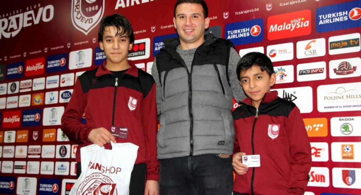 Sarajevo ugostilo dječake iz Sirije, Kallasi poželio dobrodošlicu svojim sunarodnjacima