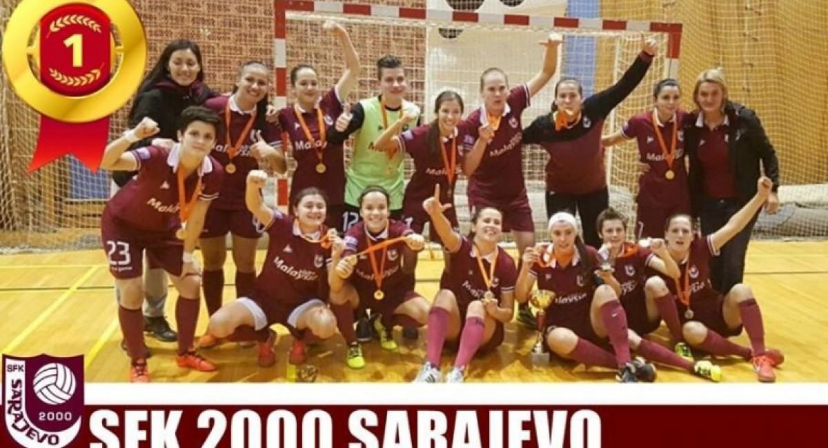 """Prvo mjesto za SFK 2000 Sarajevo na turniru """"Agram 2016."""" u Zagrebu"""