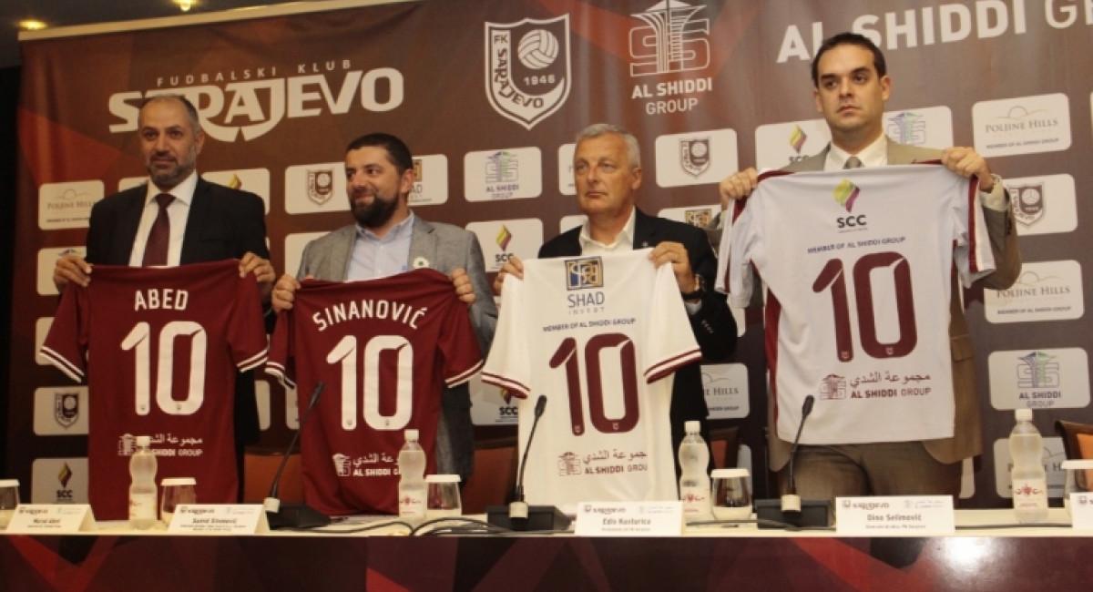 Al Shiddi grupacija novi zlatni sponzor šampiona Bosne i Hercegovine
