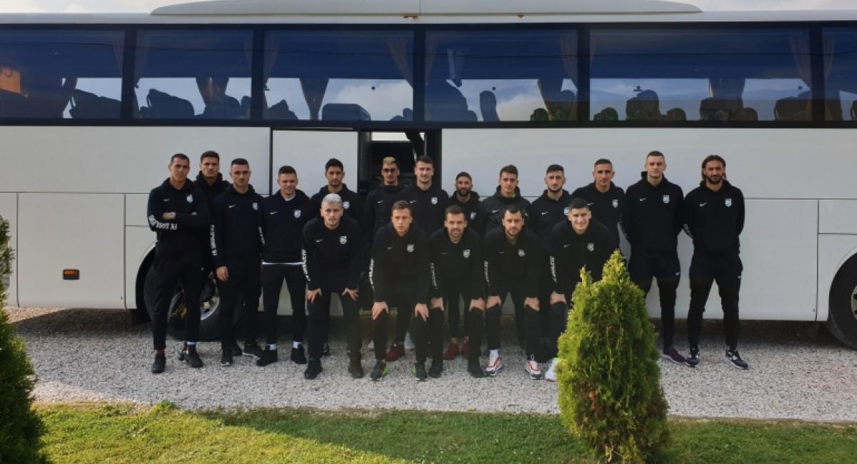 Ekipa otputovala u Stanišiće, sutra utakmica protiv FK Radnik