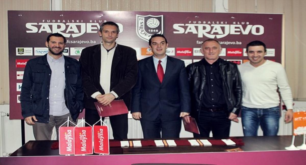 Članovi FK Sarajevo besplatno na utakmice KK Bosna i RK Bosna