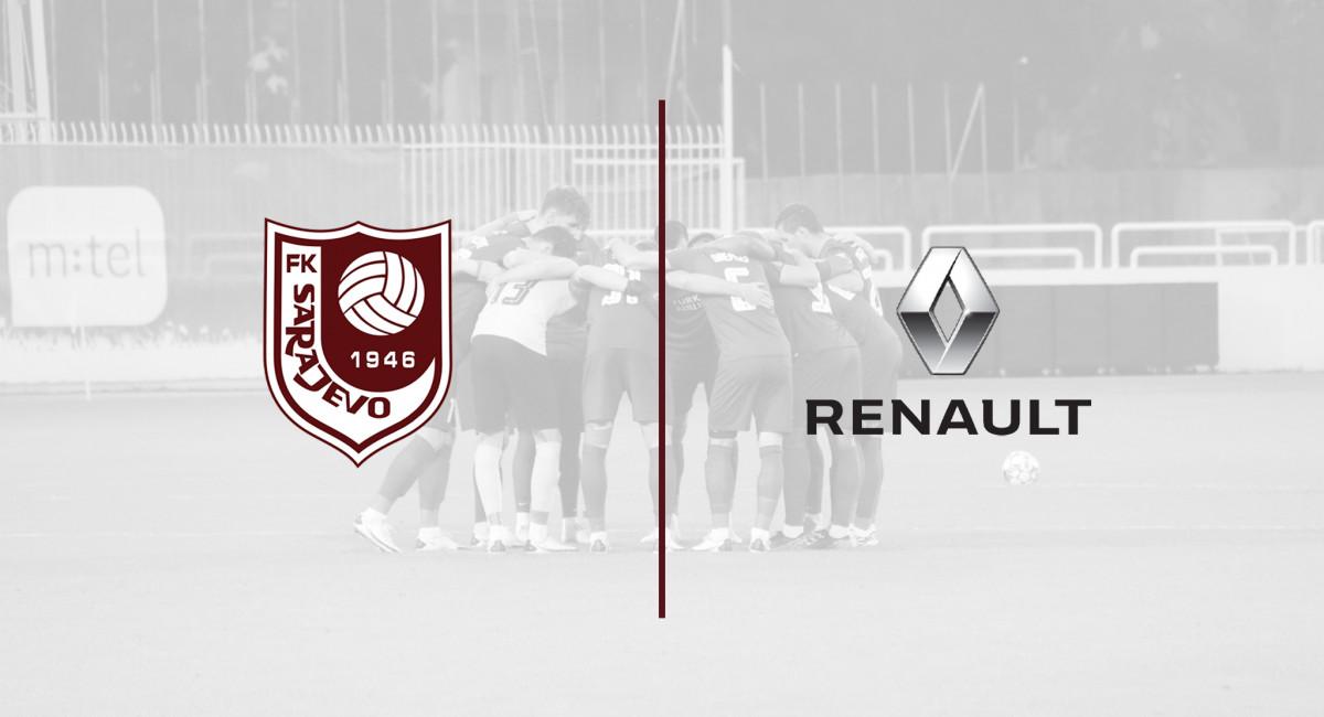 Renault ponosni partner FK Sarajevo