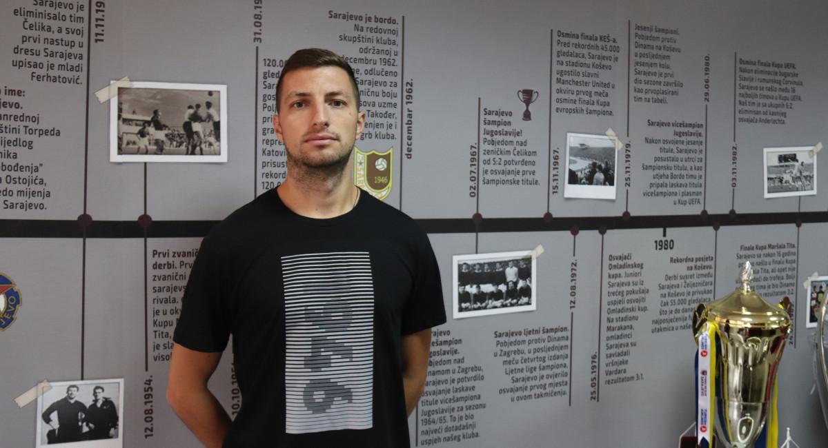 Aleksandar Pejović: Sarajevo je najbolji klub u državi, u svakoj utakmici morate davati sve od sebe