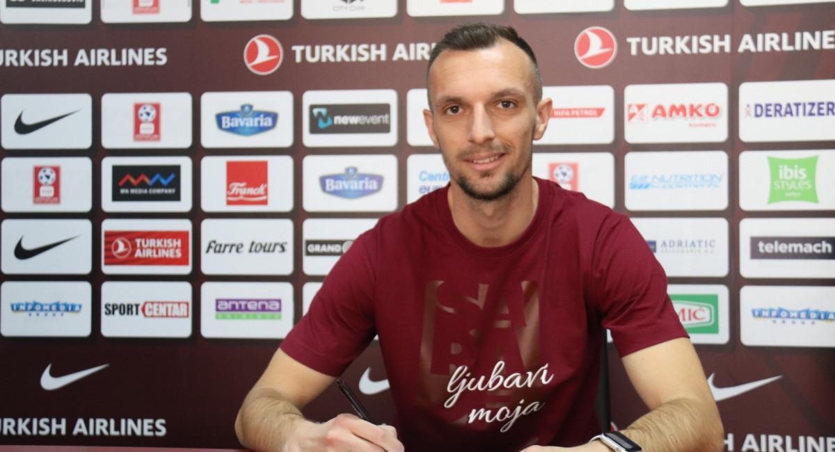 Jasmin Mešanović novi igrač FK Sarajevo