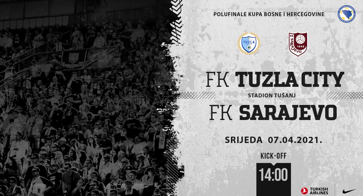 Ekipa otputovala u Tuzlu, sutra prva utakmica polufinala Kupa