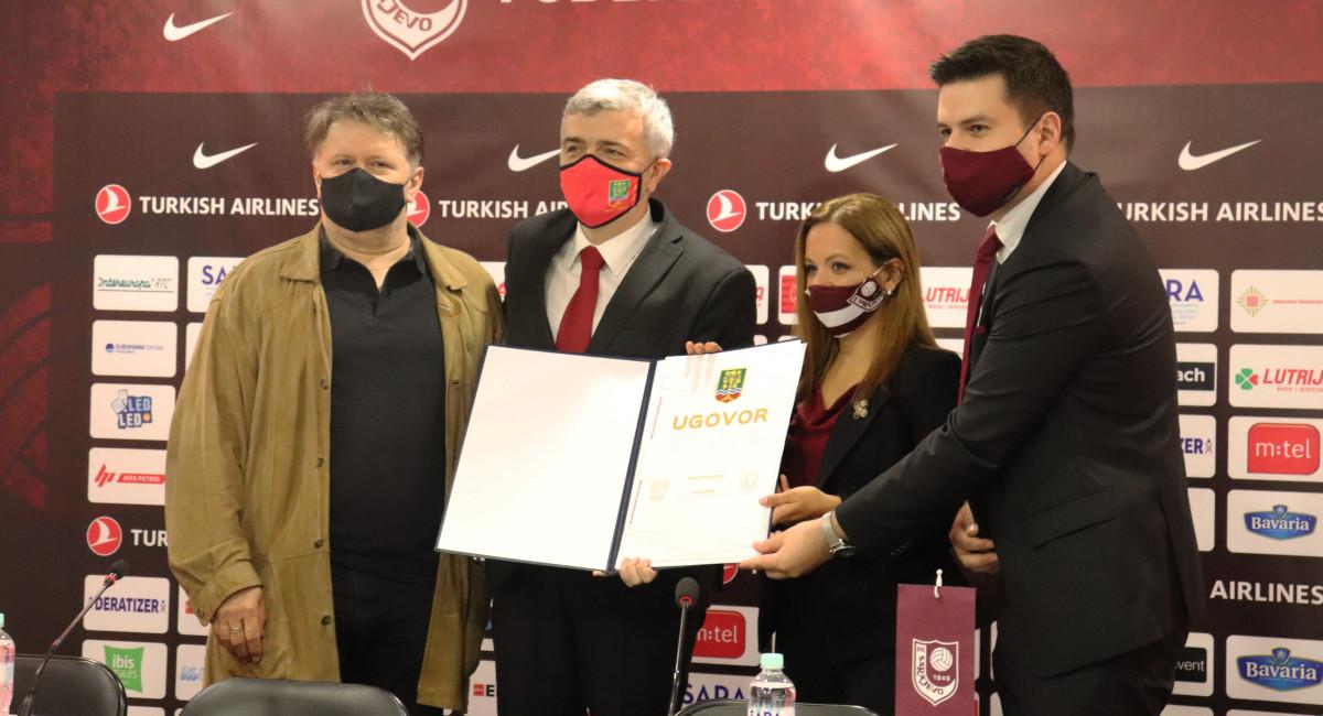 """FK Sarajevo od danas i zvanično upravlja stadionom """"Asim Ferhatović Hase"""""""
