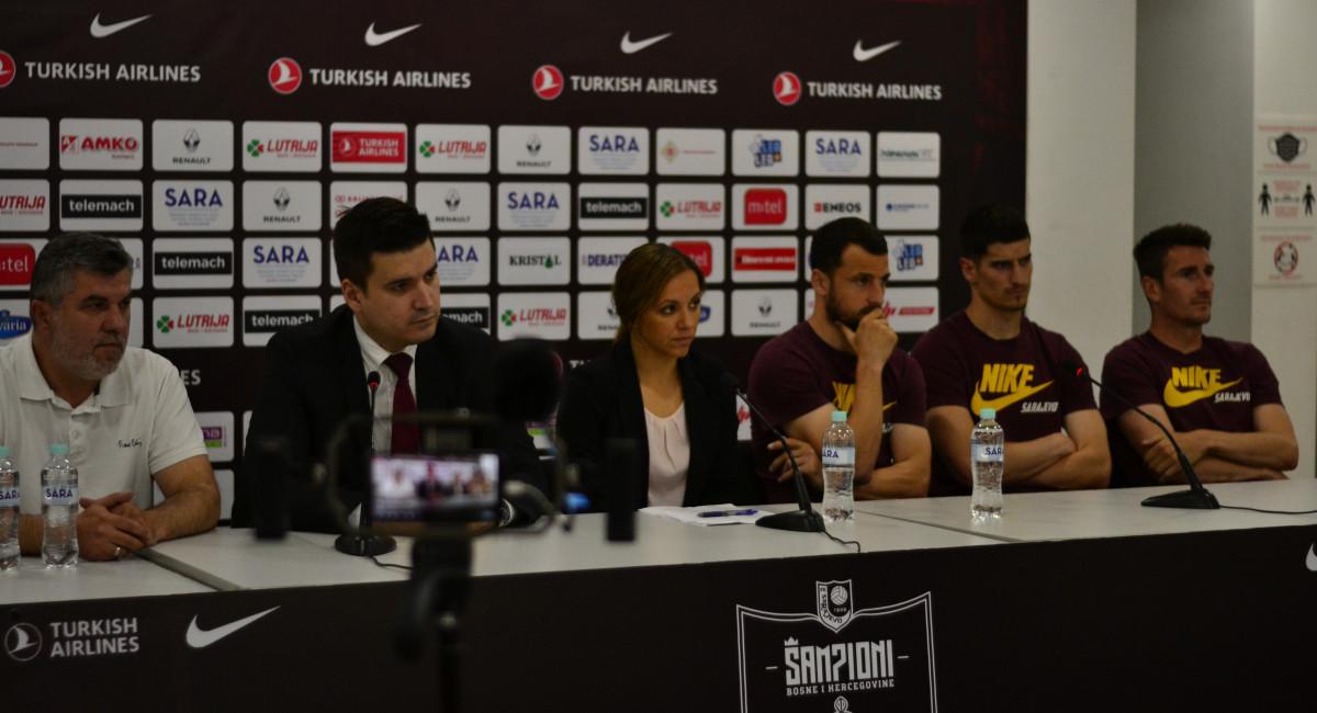 Održana press konferencija na Olimpijskom stadionu Asim Ferhatović Hase