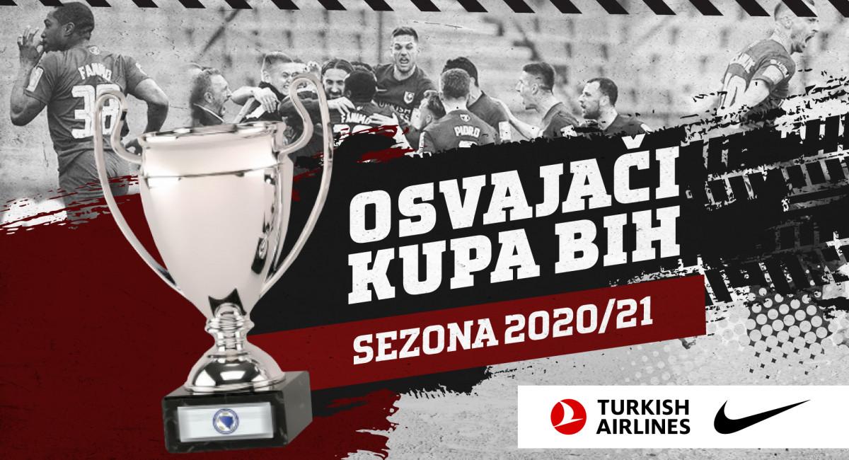 FK Sarajevo po sedmi put osvajač Kupa Bosne i Hercegovine