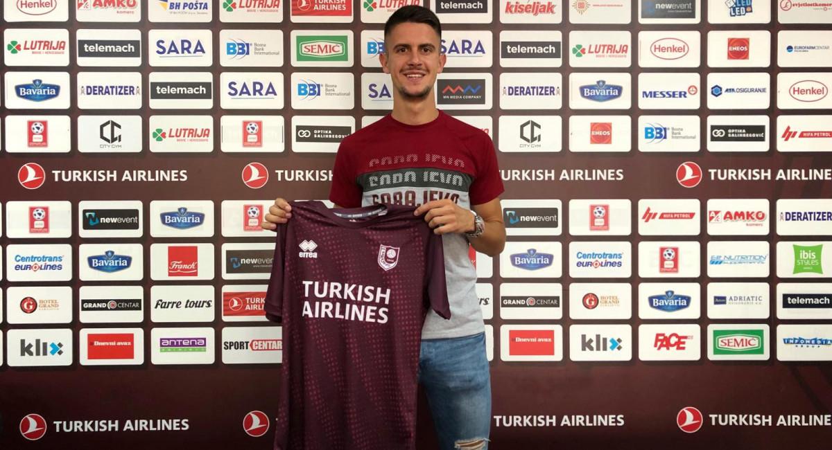 Kerim Palić je novi igrač FK Sarajevo