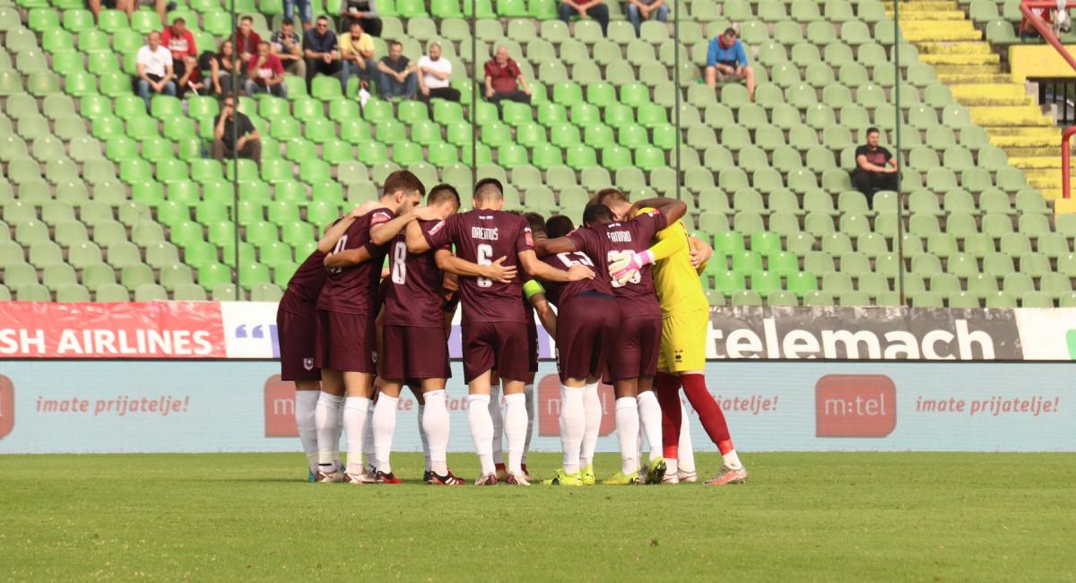 FK Sarajevo poraženo od ekipe Tuzla City
