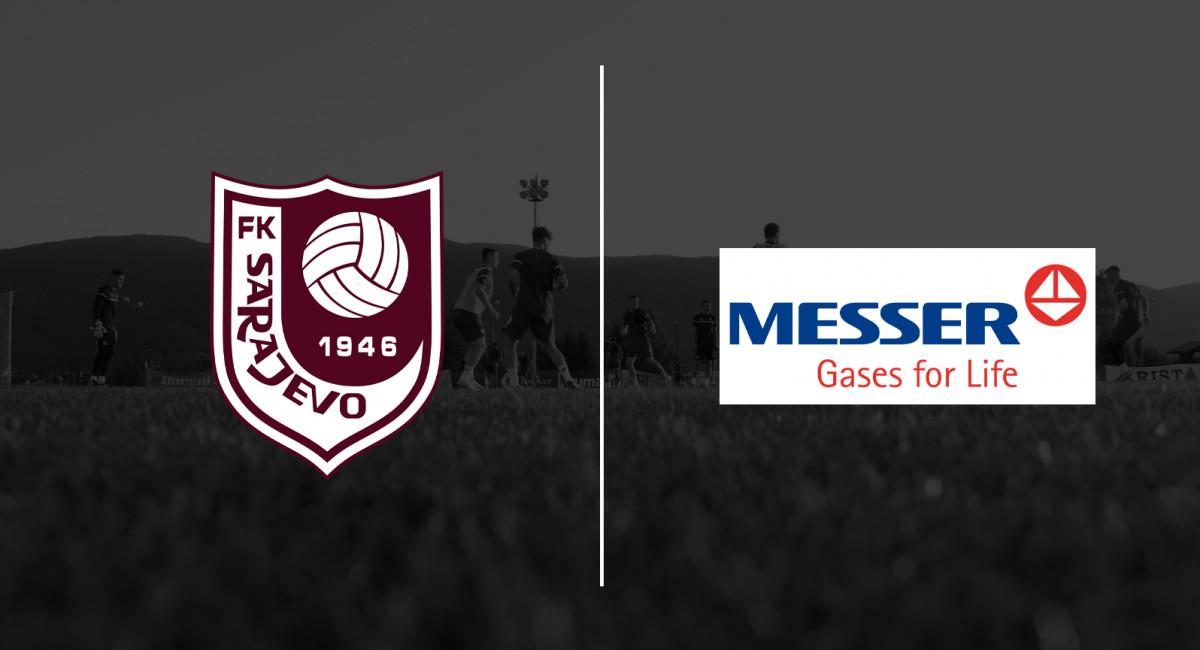 Kompanija Messer novi/stari sponzor FK Sarajevo
