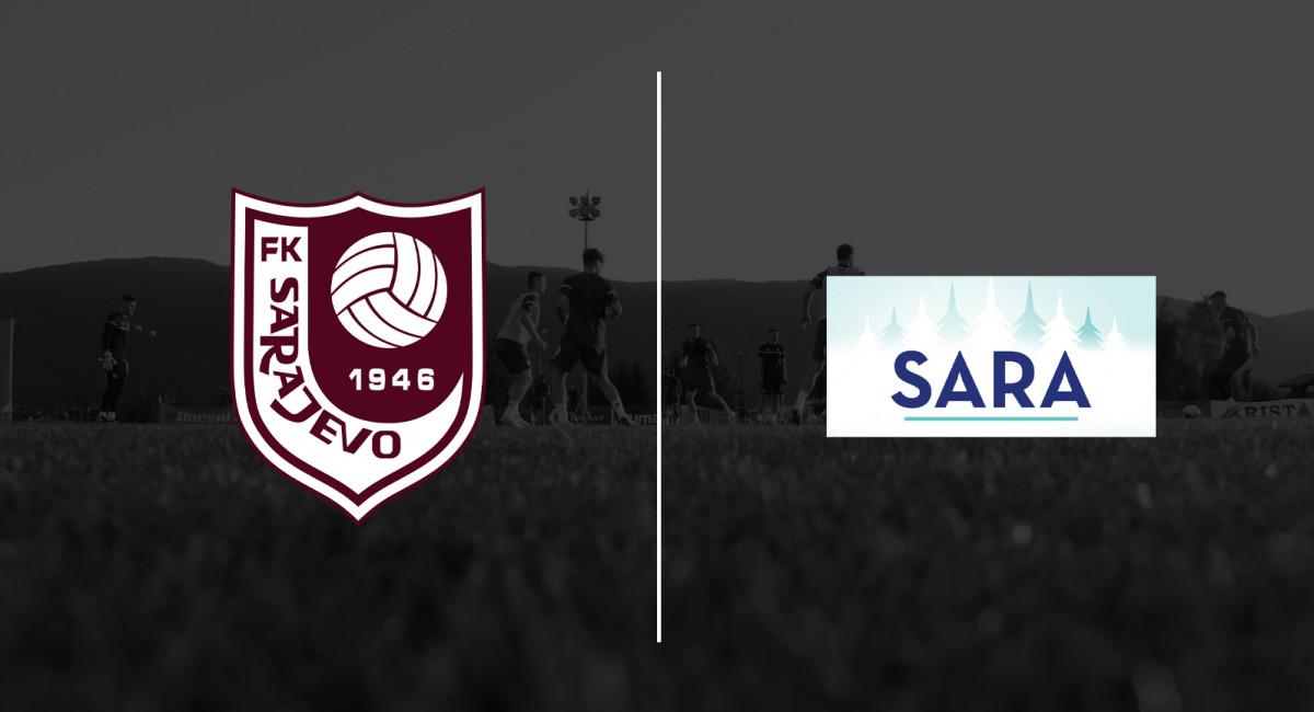 Voda Sara i narednu godinu zvanična voda FK Sarajevo