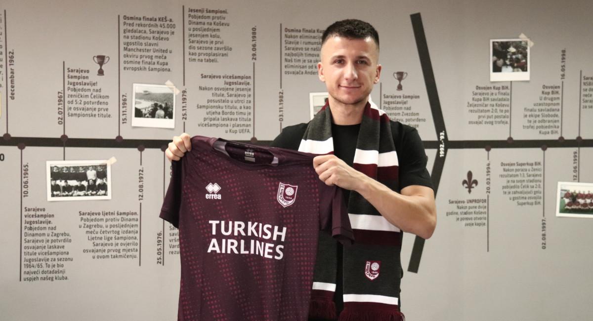 Rifet Kapić novi igrač FK Sarajevo