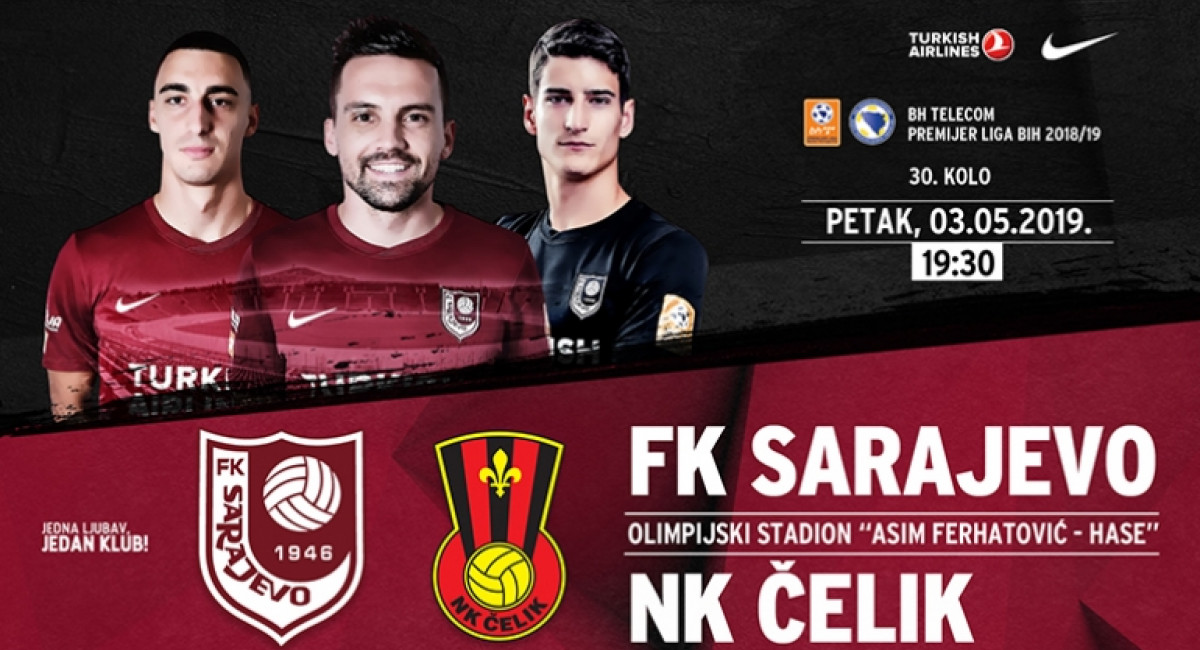 Informacije o ulaznicama FK Sarajevo – NK Čelik
