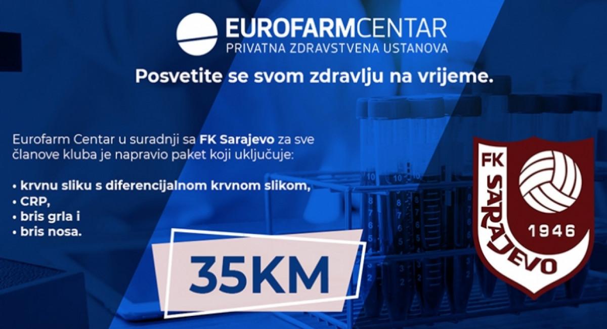 Eurofarm Centar pripremio poseban paket usluga za navijače