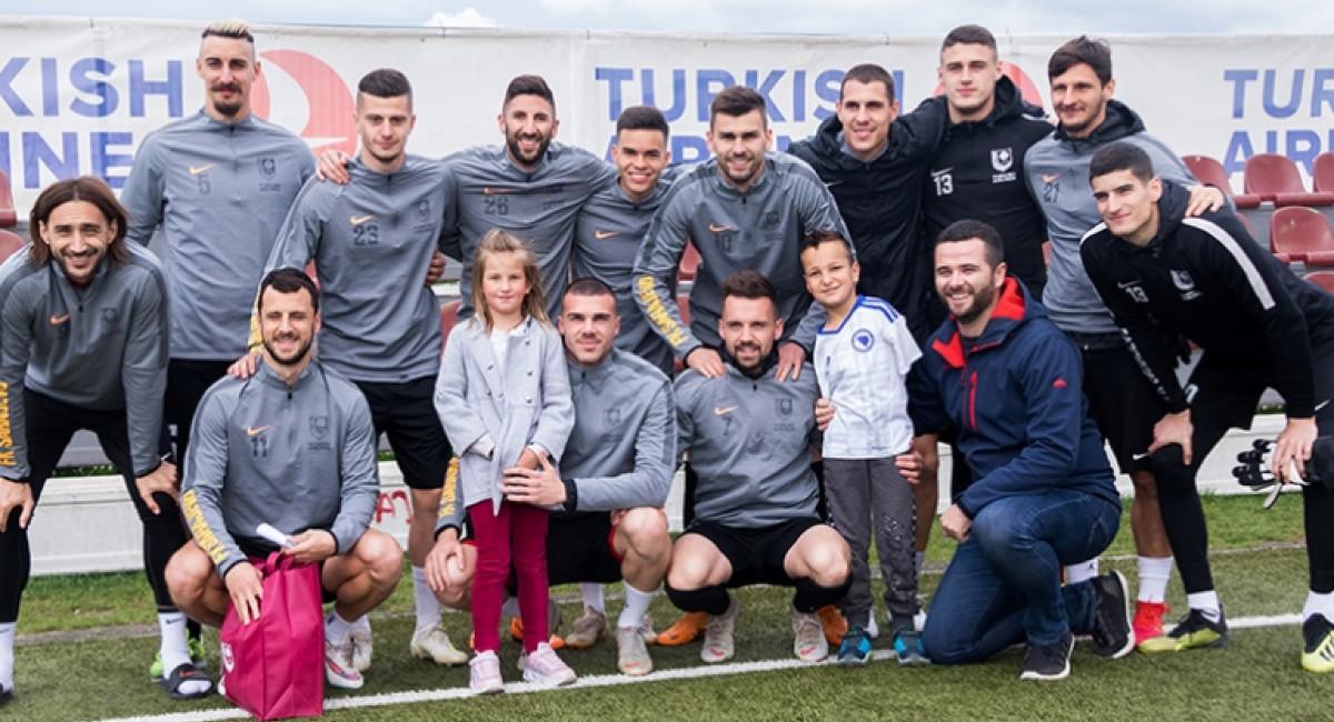 Ismail Zulfić posjetio FK Sarajevo