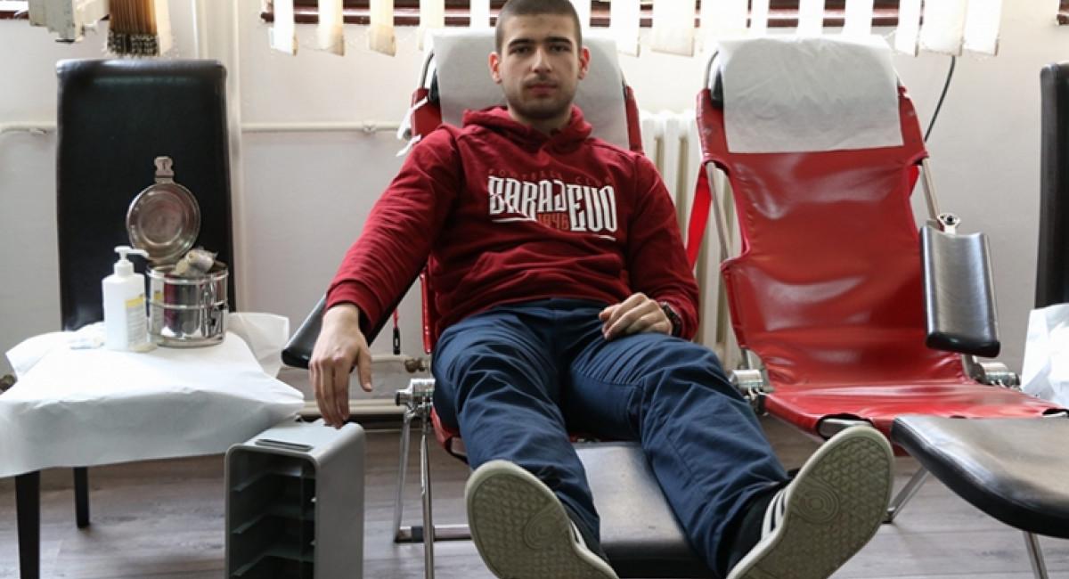 Uspješno realizovana akcija darivanja krvi