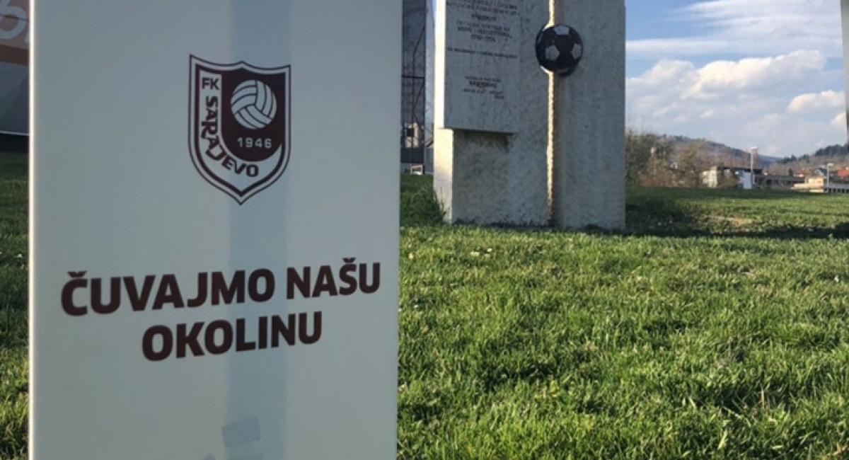 Fudbalski klub Sarajevo uspješno realizovao akciju čišćenja okoliša