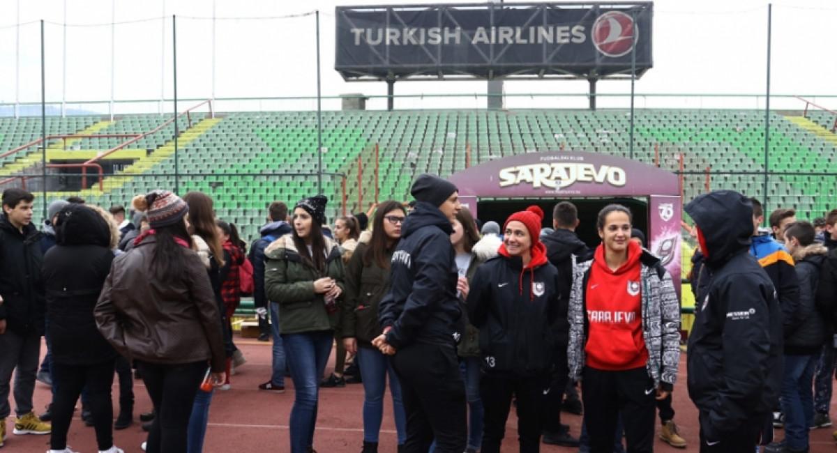"Akcija čišćenja Olimpijskog stadiona ""Asim Ferhatović Hase"""